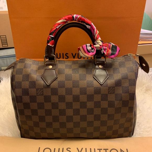 3eae7632b1ea Louis Vuitton Handbags - Authentic Pre owned Louis Vuitton Speedy 30 DE